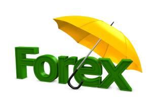 3d image, Investment conceptual, Forex umbrella
