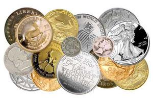 Покупка монет из драгоценных металлов